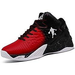 Zapatillas de Baloncesto para Hombres Damas Deportes al Aire Libre Correr Fitness Transpirable Resistente al Desgaste Antideslizante 35-45