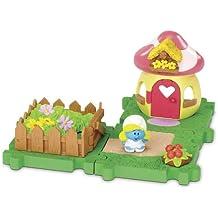 Los Pitufos - Blíster con micro Village: Smurfette (Giochi Preziosi 55822)