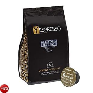 160 capsule compatibili Nescafè Dolce gusto CREMOSO - 10 confezione da 16 capsule