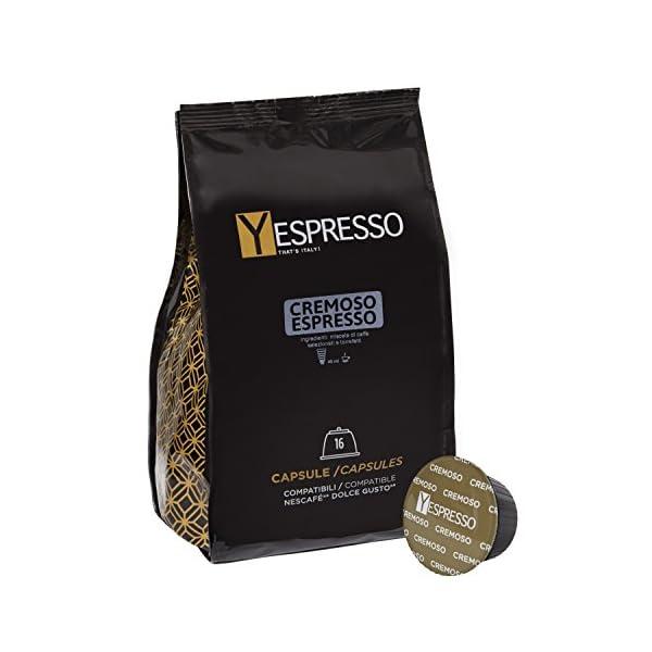 Yespresso compatibili Nescafe Dolce gusto Cremoso - 10 confezione da 16 capsule, 160 capsule 1 spesavip