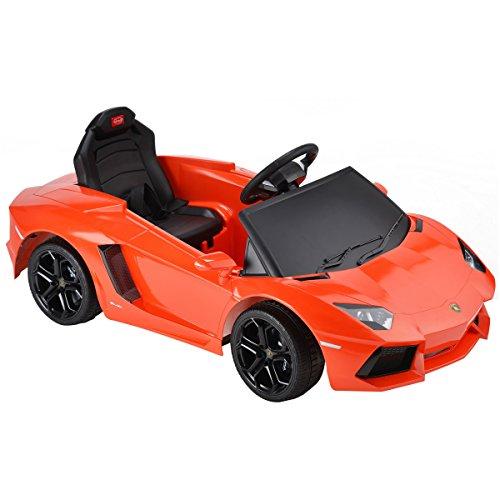 lamborghini-aventador-6v-childrens-kids-licensed-rastar-ride-on-electric-remote-toy-car-orange