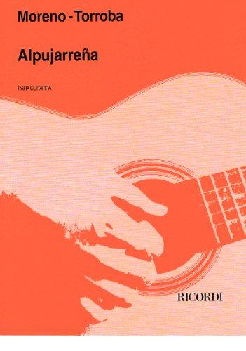 MORENO TORROBA - Alpujarreña para Guitarra