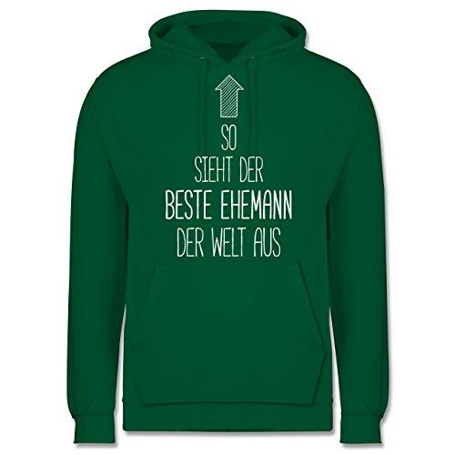 Typisch Männer - So sieht der beste Ehemann der Welt aus - Männer Premium Kapuzenpullover / Hoodie Grün