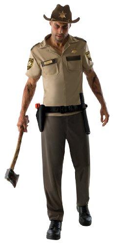 Rick Grimes The Walking Dead Kostüm für Erwachsene Karneval Verkleidung