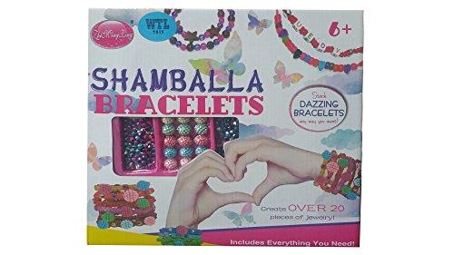 DIY-Bracciale Shamballa & Jewellery Maker per ragazze e ragazzi-ideale come regalo di Natale per i bambini e kids- più venduti per bambini giocattoli Christmas Hamper