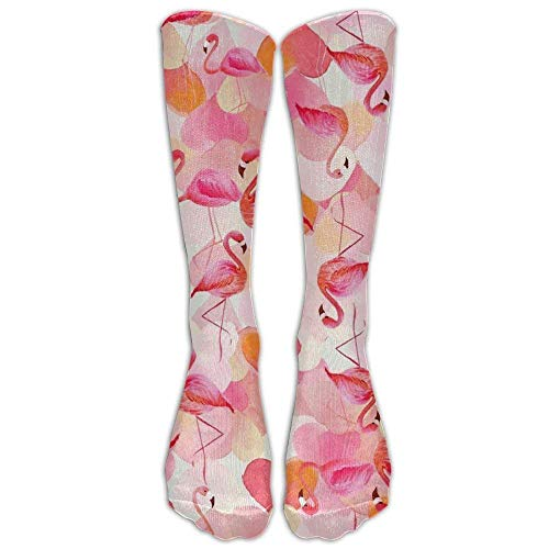 ocaohuahuaba Damen Herren Socken Happy Penguin Tube Kniestrümpfe Lustiges Kleid Baumwolle Socken zum Laufen -