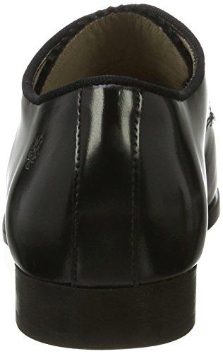 Marc O'Polo Lace Up Shoe 70714153401112, Scarpe Stringate Donna nero (nero)
