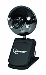 Gembird Cam66u Usb 2.0 1.3 Mp Webcam With Built-in Microphones