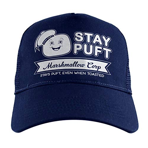 Cloud City 7 Ghostbusters Stay Puft Marshmallow Corp, Trucker Cap