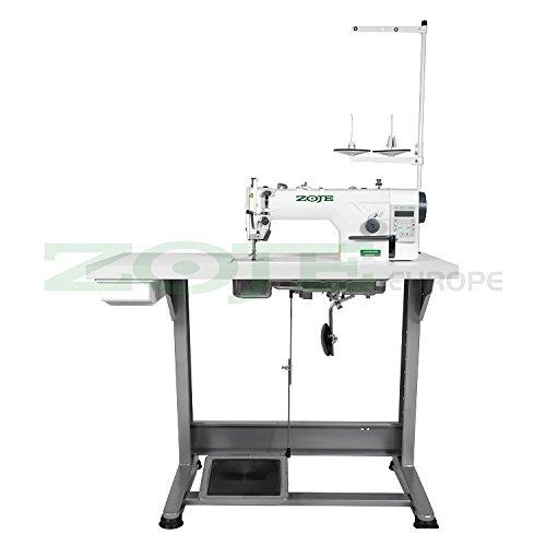 Zoje-Máquina de coser industrial automática, completamente montada sobre mesa