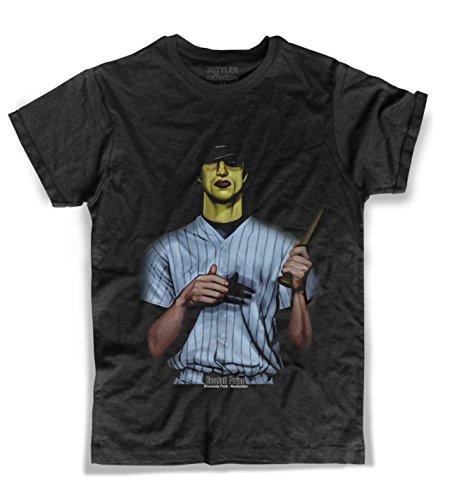 3stylercollection, Guerrieri della Notte t-Shirt Uomo - Baseball Furies, Colore: Nero, Taglia: Large