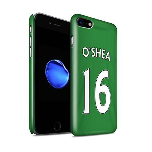 Offiziell Sunderland AFC Hülle / Glanz Snap-On Case für Apple iPhone 7 / Jones Muster / SAFC Trikot Away 15/16 Kollektion O'Shea