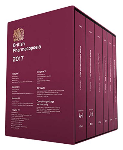 British pharmacopoeia 2017 [print edition]