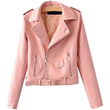 save off aa027 a9e16 Donna Rosa it Amazon Giacca Pelle OtPAv