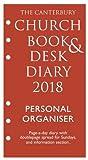The Canterbury Church Book & Desk Diary 2018 Personal Organiser Edition