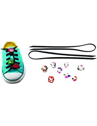 AVIRGO Universal Lazy No Tie Silicone Shoelace Rubber Elastic Slip Sneaker Shoe Laces Running Shoelaces Athletic... - B01N1F4XTW