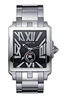 Cerruti CRB002A221D - Reloj analógico de caballero de cuarzo con correa de acero inoxidable plateada - sumergible a 50 metros de Cerruti