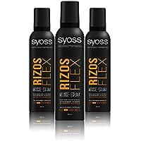 SYOSS, espuma Rizos Flex - 3 de 250 ml. (Total 750 ml.)