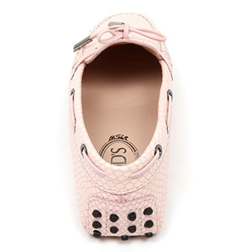 C9078 mocassino donna TOD'S HEAVEN scarpa rosa loafer shoe woman pink Rosa