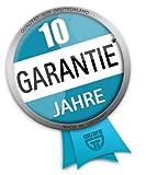 GRÄWE® Profi schmiedeeiserne Bratpfanne (/) 28 cm -- extra hoher Rand - Made in Germany -