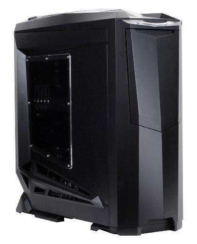 SilverStone SST-RV01B-W USB 3.0 - Cabinet Raven Big Tower EATX/ATX da Gaming,finestrato, nero