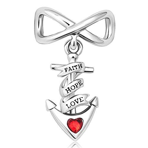 Uniqueen  -    Kupfer       (Herz Charms-infinity Pandora)
