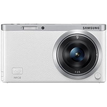Samsung NX Mini Camera - White (9mm Lens Kit, 20.5MP) 3 inch LCD