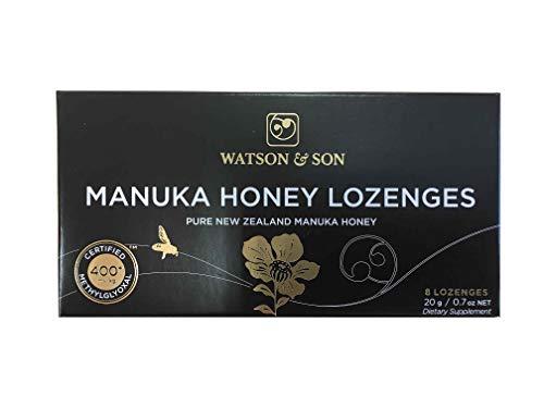Watson & Son Original Manuka-Lutschpastillen MGO 400+, 1er Pack (1 x 10 g) - Manukahonig Nz Health