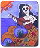 Sirena Day of The Dead Mouse Pad - by Art Plates