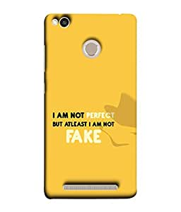 Xiaomi Redmi 3s Prime, Xiaomi Redmi 3 Plus Back Cover (Inspiration Motivational Self Esteem Affirmation Voice Concept Beautiful Newest) From Printvisa
