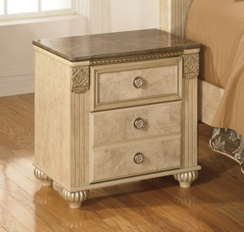old-world-light-opulent-finish-saveaha-2-drawer-nightstand-with-faux-marble-top-by-ashley-furniture