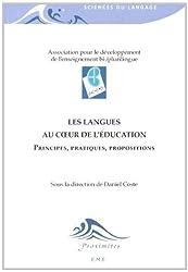Les langues au coeur de l'éducation