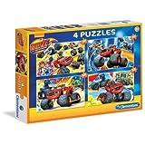 Blaze And The Monster Machine - Puzzle 2 x 20 Piezas + 2 x 60 Piezas (Clementoni 76109)