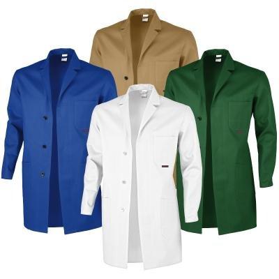 Berufsmantel Arbeitskittel Blaumann 100 % Baumwolle - mehrere Farben - 56,Grün