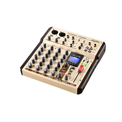 Prodotti Per DJ Phonic PHONIC Mixer AM 6 GE 6Can.UsbRec BT Play