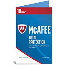 McAfee Total Protection 2017 | 10 Geräte | 1 Jahr | PC/Mac/Smartphone/Tablet | Download