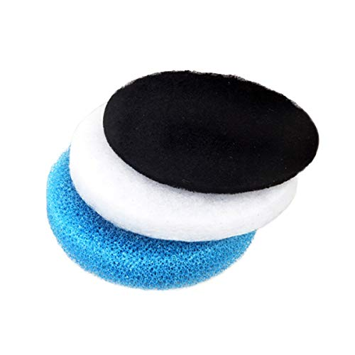 DyNamic Blue/White/Black Aquarium Biochemical Carbon Cotton Filter Foam Sponge Pack Für Eheim Classic 250 - Weiß -
