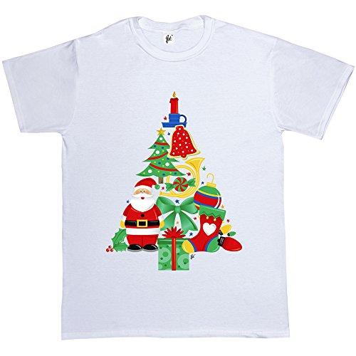 Fancy A Snuggle -  T-shirt - Collo a U  - Maniche corte  - Uomo Bianco
