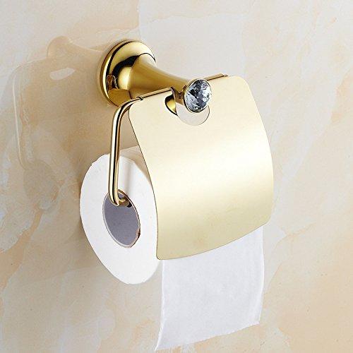GFEI antike toilettenpapierhalter, gewebe - box / wc umhauen, wasserdichte toilettenpapier rack / rollen papier holen gold