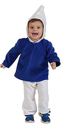 """nder """"Blauer Zwerg"""", Babykostüm (86) (Kleinkind Schlümpfe Kostüme)"""