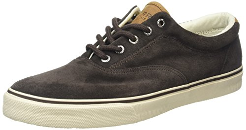 Sperry Top-Sider Striper Cvo Suede, Scarpe da Ginnastica Basse Uomo, Marrone (Brown), 47 EU