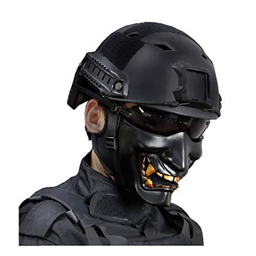 haoYK Casco de Deporte Multiusos Protector táctico Casco Airsoft Paintball Tipo BJB...