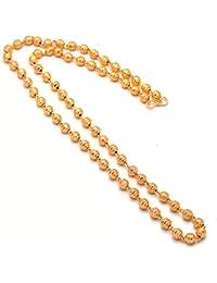 Jewar Chain Neck 28 Inches Fine Gold Plated Finish Handmade Jewelry 95728