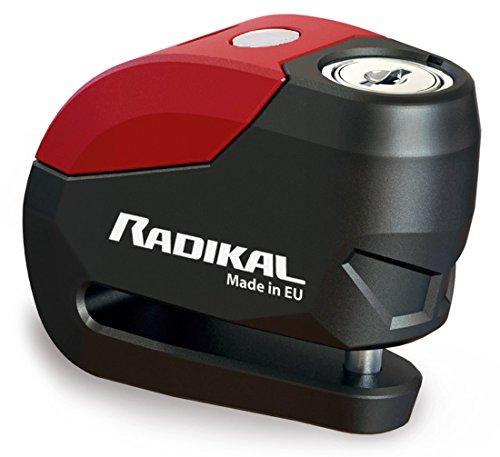 Radikal RK9 Candado Antirrobo Moto Disco Alarma 120 Db Avisador Led Univesal,...