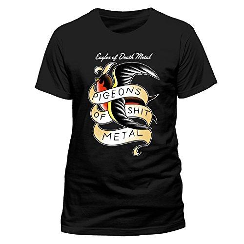 Beats & More -  T-Shirt - Collo a U - Uomo Nero M