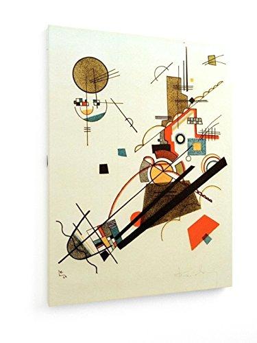 Wassily Kandinsky - Glücklicher Aufstieg - 1923 - 60x80 cm - Textil-Leinwandbild auf Keilrahmen -...