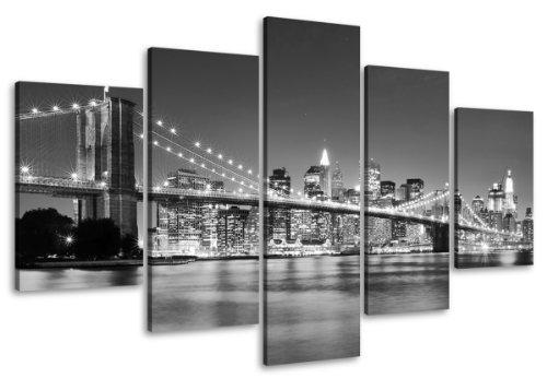 cuadros-en-lienzo-100-x-50-cm-nr-6402-nueva-york-enmarcado-y-listo-para-colgar-calidad-de-la-marca-v