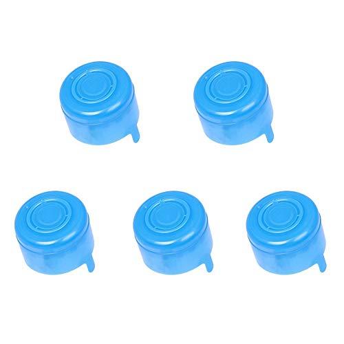 10 Stück Gallone Trinkflasche 55mm Snap On Anti Splash Abziehen Top Ersatz 5-teilig) - Wie Abgebildet Show, 5pcs - Splash Top