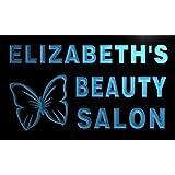 x2005-tm Elizabeth's Beauty Salon Custom Personalized Name Neon Sign Enseigne Lumineuse