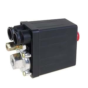 Compresseur d'air Pressostat Vanne de contrôle 175PSI 240V
